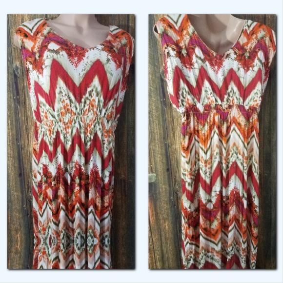 ONE WORLD Dresses | Womens Plus Size 2x Maxi Dress | Poshmark